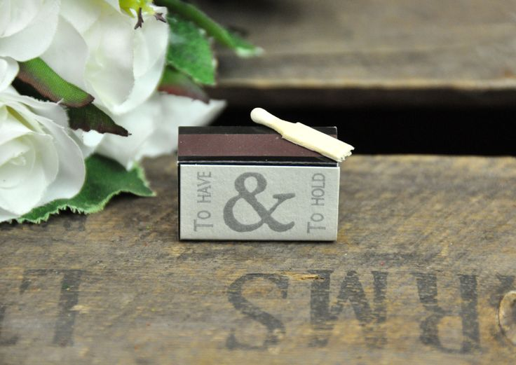 To Have Hold Matches From East Of India These Cute Little Bo Miniature Are The Perfect Finishing Touch A Wedding Table Or Gift