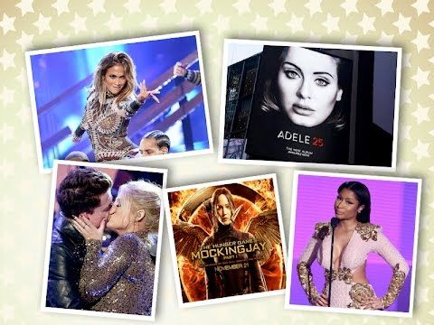 AMAs Awards 2015 Review, Hunger Games, Gigi Handid, Adele 25 Album