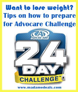 Now that you're ready to take the Advocare 24 Day Challenge, read these tips on How to Prepare for Advocare Diet.
