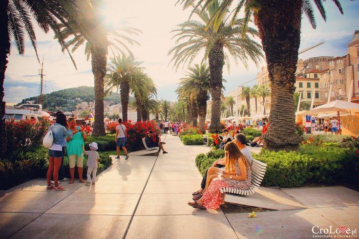 Promenada w Splicie || http://crolove.pl/25-zdjec-ktore-sprawia-ze-zakochasz-sie-w-chorwacji/ || #Chorwacja #Croatia #Hrvatska #Kroatien #Photos
