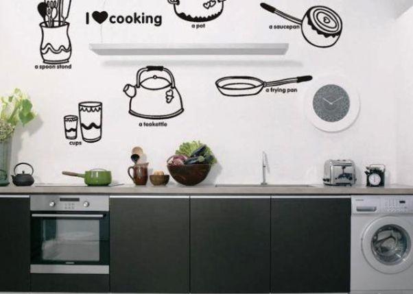 Stickers Deco Cuisine Pas Cher Radioconexionanimal Pertaining To