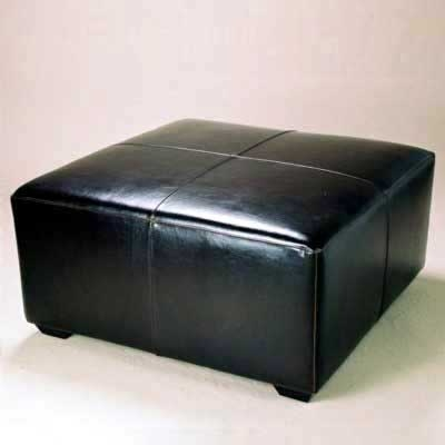 black-leather-ottoman-coffee-table