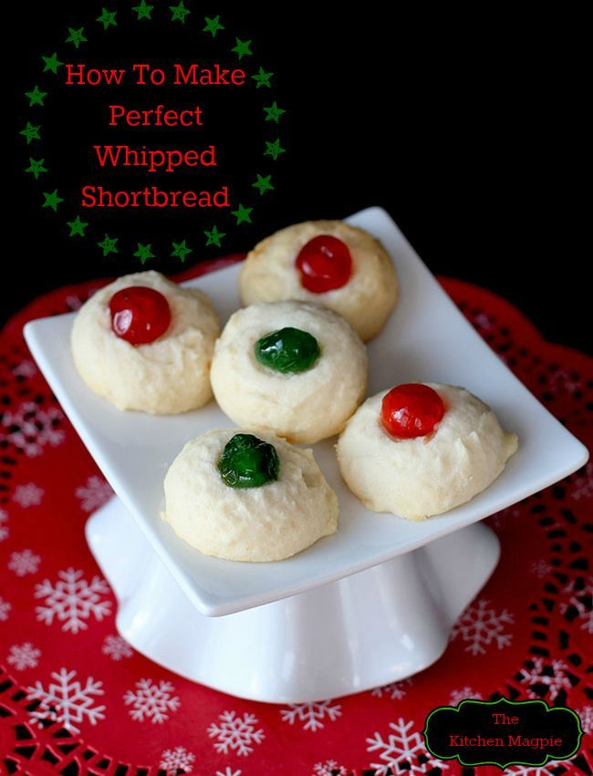 How To Make Perfect Whipped Shortbread. I've put together all my tips, tricks & the best recipe after years of baking this every Christmas.   The Kitchen Magpie #Christmas #cookies #recipes