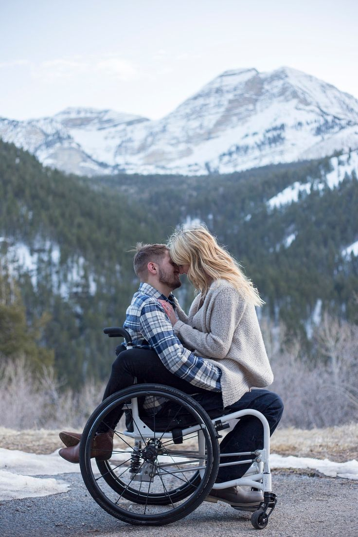 My own wheelchair engagement photos>>> See it. Believe it. Do it. Watch thousands of spinal cord injury videos at SPINALpedia.com