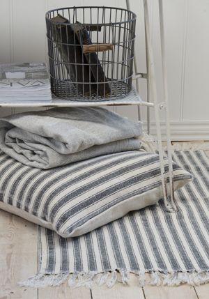 Tapis rectangulaire descente de lit en coton 55 x 85 cm - 32€