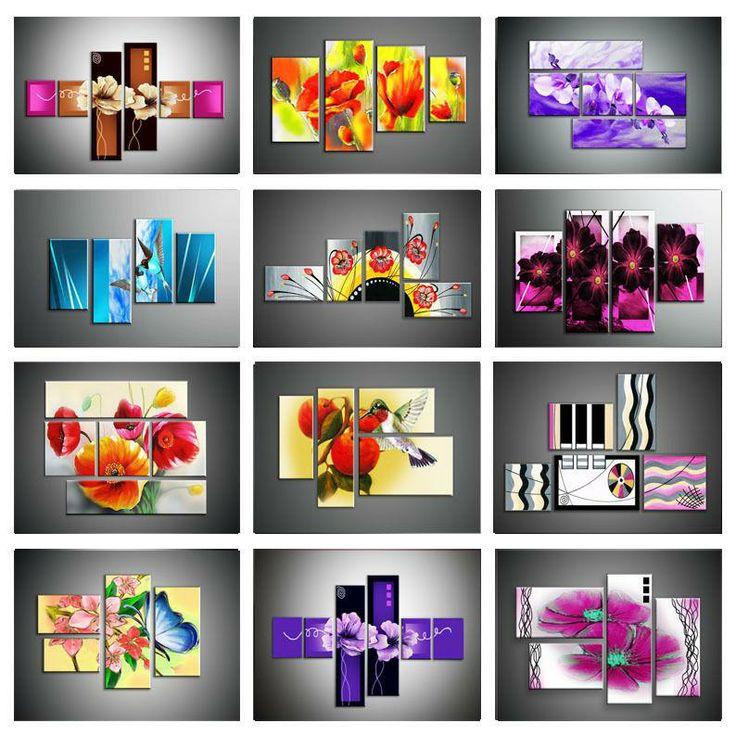 Scopri le Offerte di cliart.it  Quadri moderni dipinto a mano astratti fiori arredamento interno casa ufficio 64,90 Eur  http://www.cliart.it/?df=261325274872
