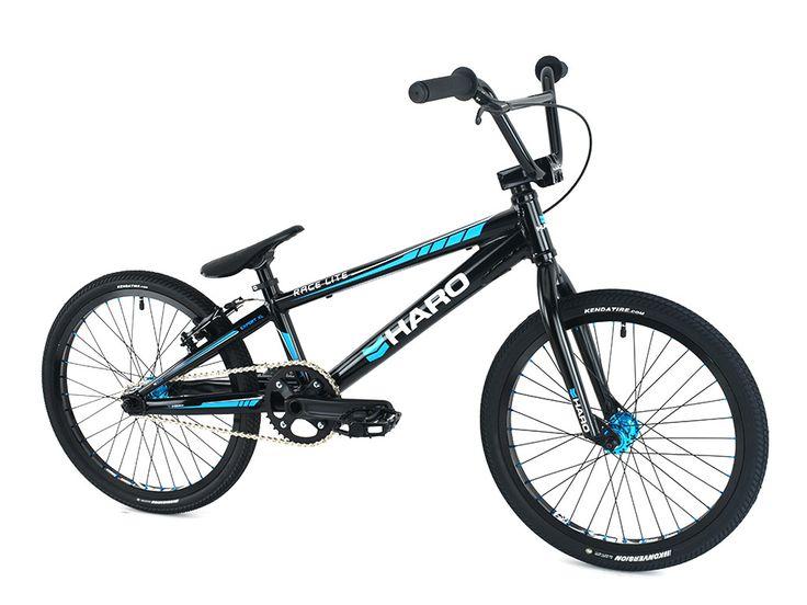 """Haro Bikes """"Race LT Expert XL"""" 2016 BMX Race Bike - Gloss Black"""