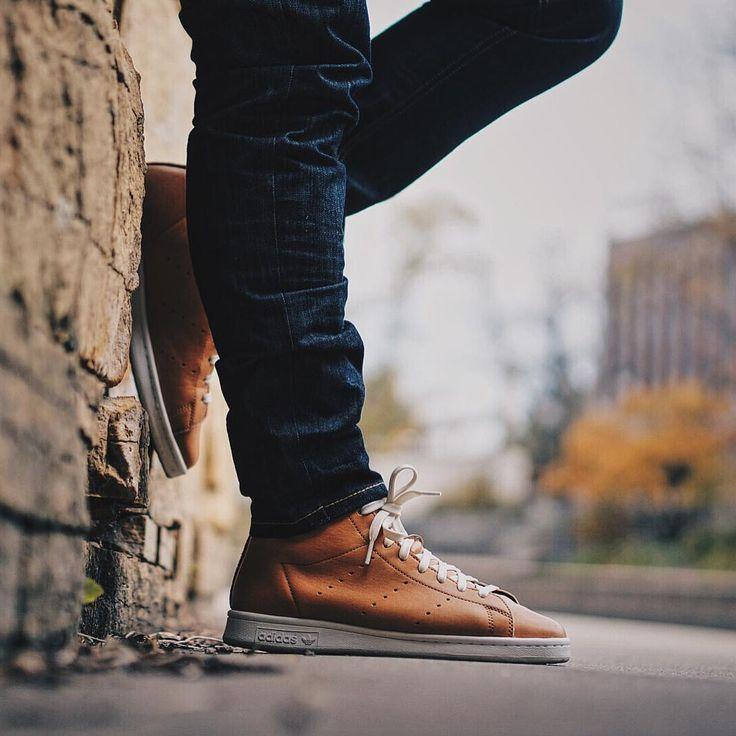 adidas stan smith horween on feet