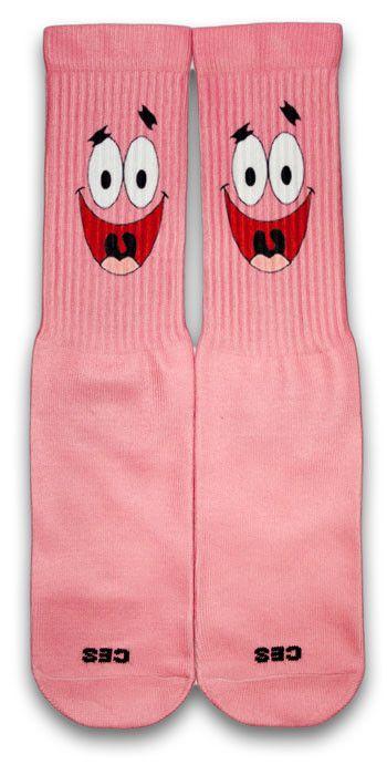 Patrick CES Custom Socks