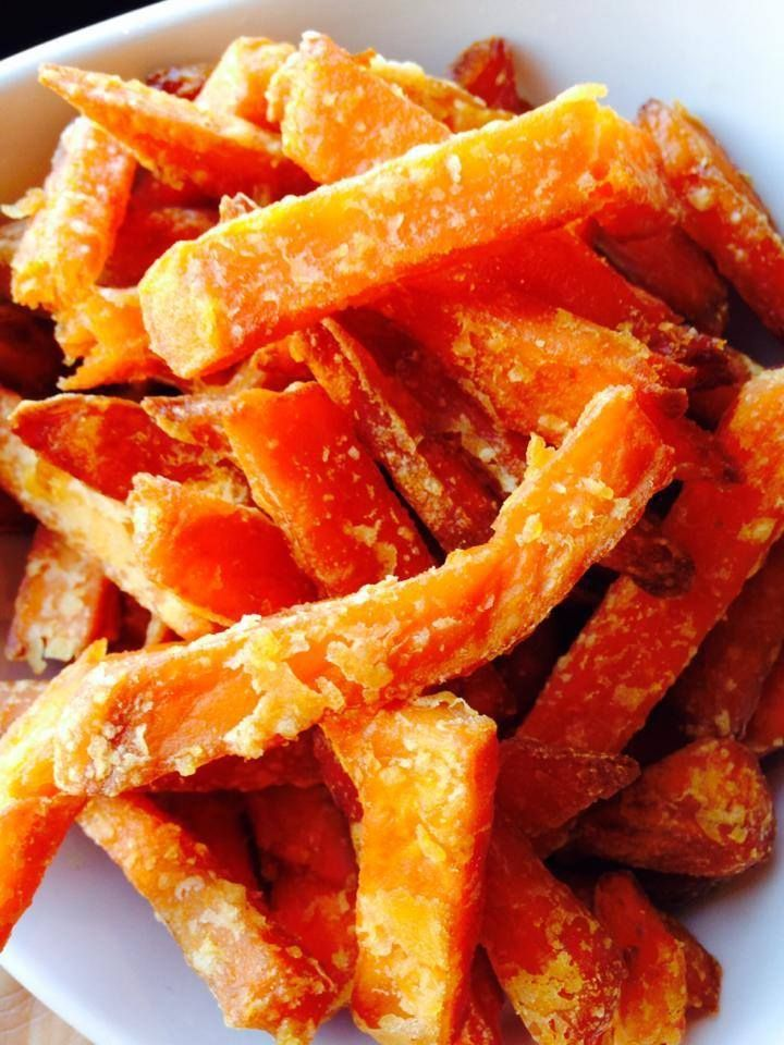 Clean sweet potato fries