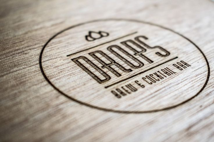Logo and Menu design for Drops, Brew & Cocktail Bar. Co-designed with Gianna Michalopoulou.