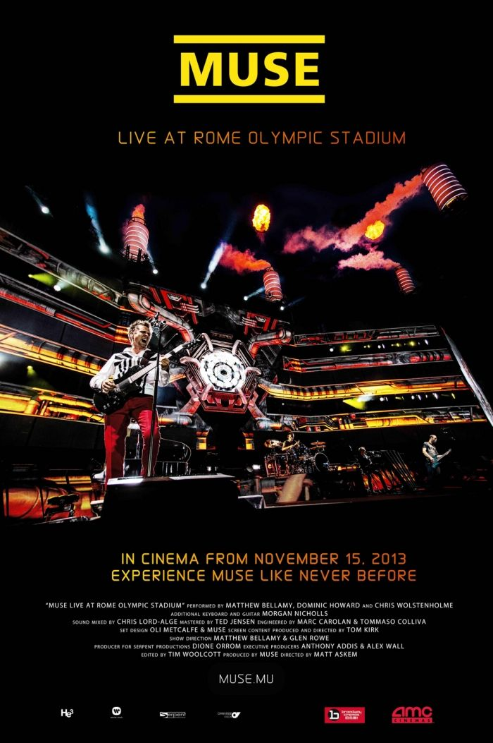 Muse: Live At Rome Olympic Stadium [2013] (11-15)