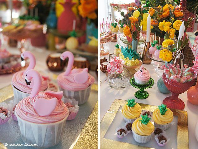Lima Limão - festas com charme: Mood tropical: 30º aniversário da Té!