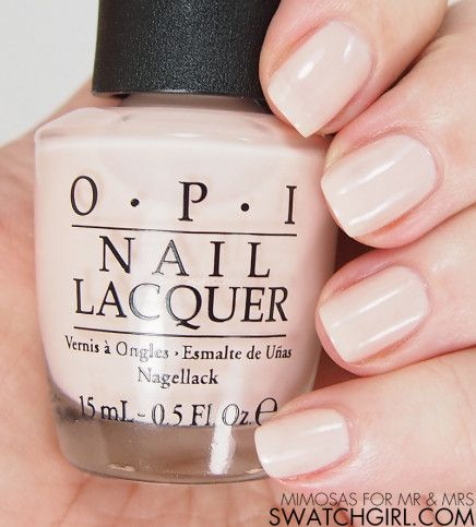 OPI Mimosas For Mr & Mrs Nail Polish Swatch & Review ...