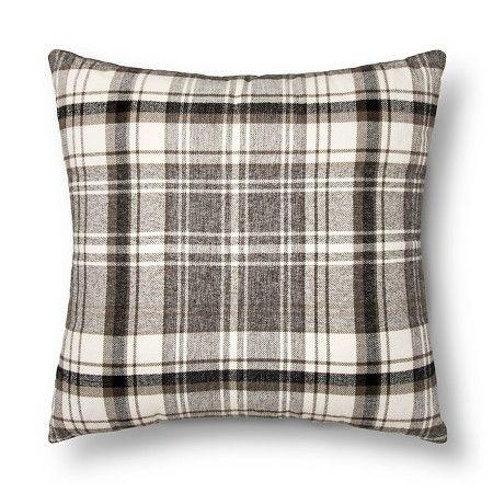 Throw Pillow Plaid Oversized - Threshold™ : Target, $29.99