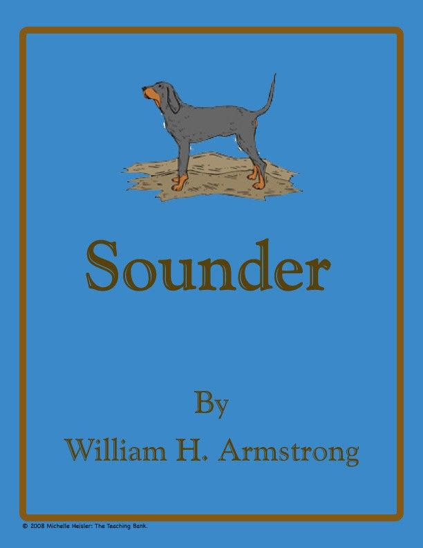 book report on sounder by william h armstrong By the school and report only charged book sounder is in the william armstrong children's book sounder by william h armstrong 2 http://www.