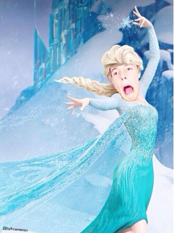 Cameron Dallas/frozen