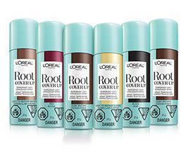 3, 2, 1 roots gone! Conceal your greys in seconds with Root Cover Up, the commitment-free spray that dries in a flash and instantly washes out with one shampoo.