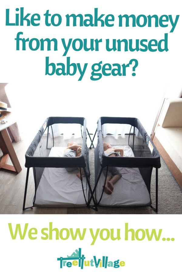 Stay at home mum side hustle   Earn money from your unused baby gear   Click here for more info at Tree Hut Village #workfromhome #sidehustle #stayathomemum