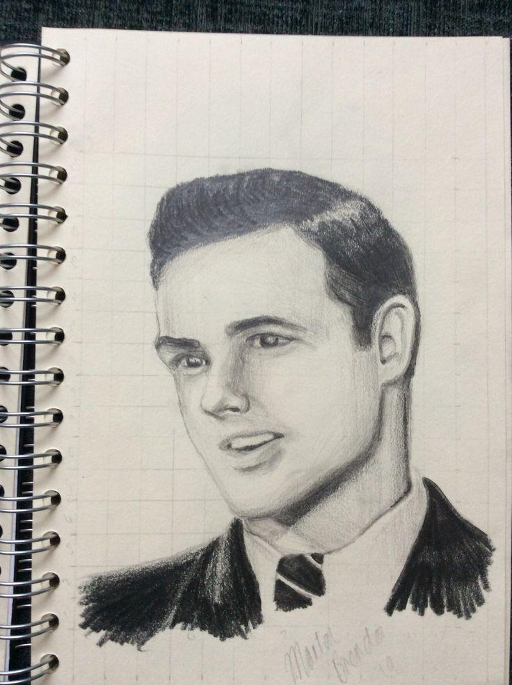 Marlon Brando sketch