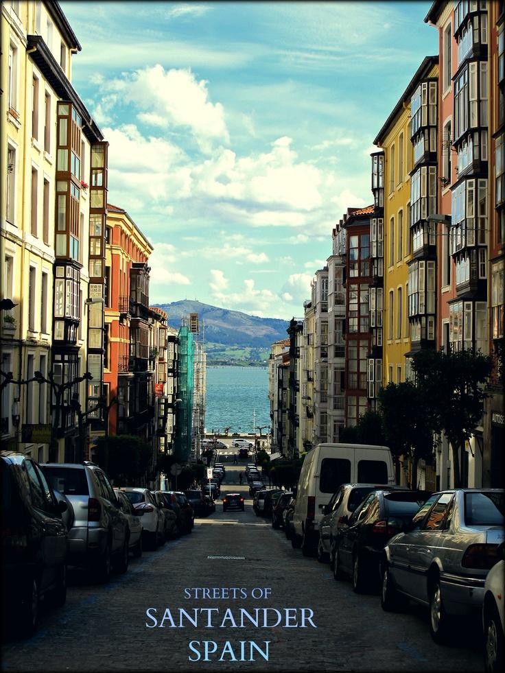 Streets of Santander #Spain #Santander #spistudyabroad http://www.spiabroad.com/spain