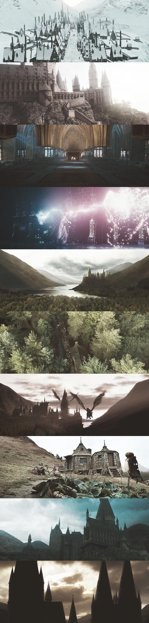 The world of Harry Potter:
