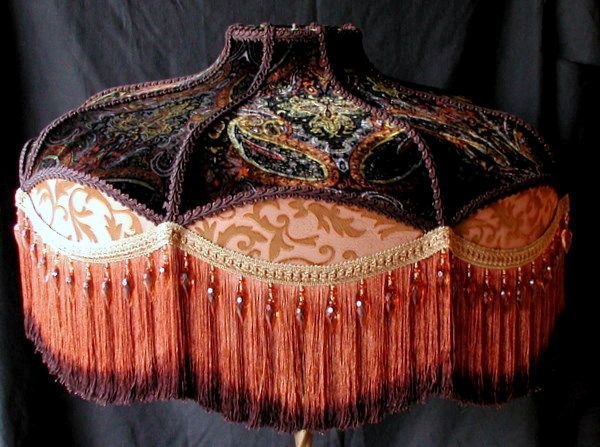 Handmade Victorian lampshades are our specialty.  We also make custom Deco, Edwardian, Nouveau, and Asian style lampshades. www.vintageshades.com