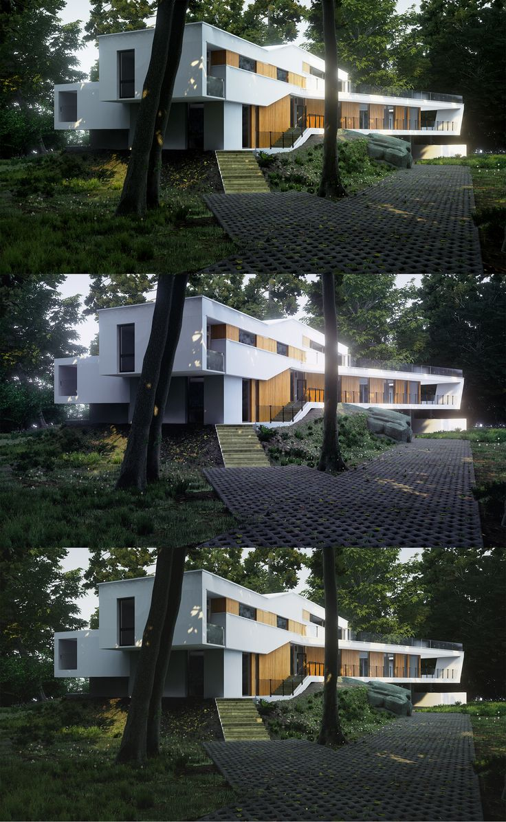 Doing some RnD in Unreal Engine 4 for ArchViz. House - Casa F, Corbeanca - Igloo Architecture