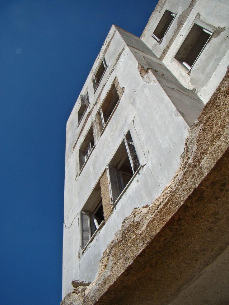"""The """"prison like"""" facade"""