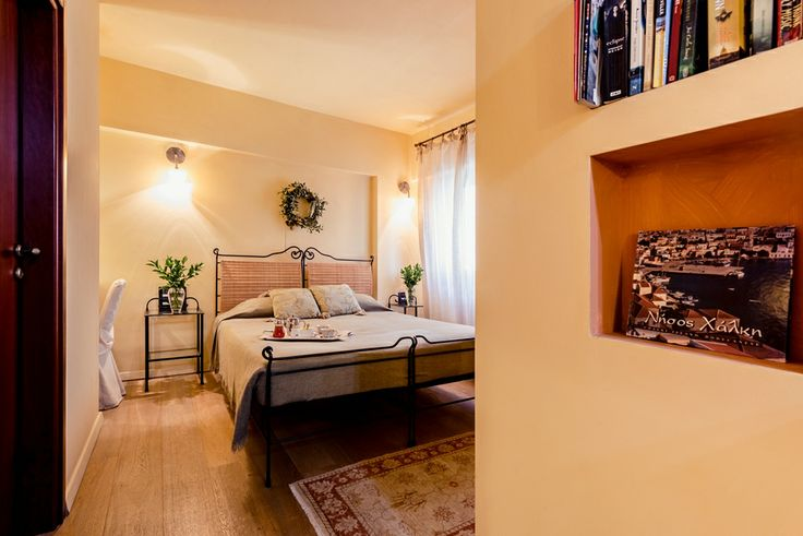 Anatoli suite. Bright decorated in earth tones, is an ultimate getaway for rest and relaxation. #Avalon #boutique #hotel #Rhodes #island #Greece