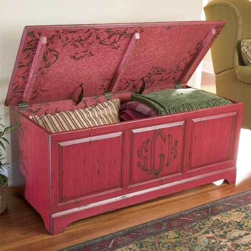 Simply Woods Furniture - linen and storage chest