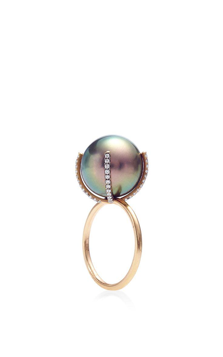 Anillo de la perla por Susan Foster, la preventa de Moda Operandi