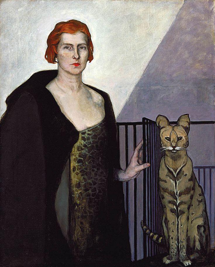 Portrait of Emile d'Erlanger, 1924 by Romaine Brooks, (American expatriate artist, 1874-1970)