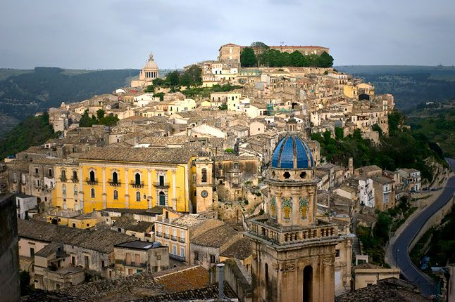Sicily - when you see it like this, is it any wonder that so many civilizations of old were fighting over it?