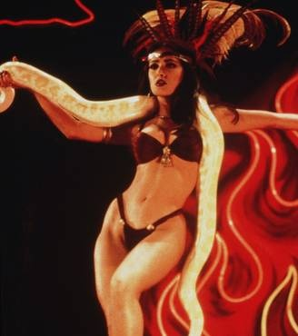 "Salma Hayak in Robert Rodriguez' ""From Dusk To Dawn"""