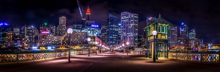 Panaramic view of Darling Habour from rotary bridge Sydney Australia by Danh Nguyen on 500px