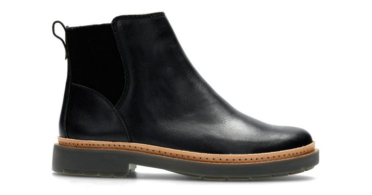Trace Fall Black Leather | Clarks