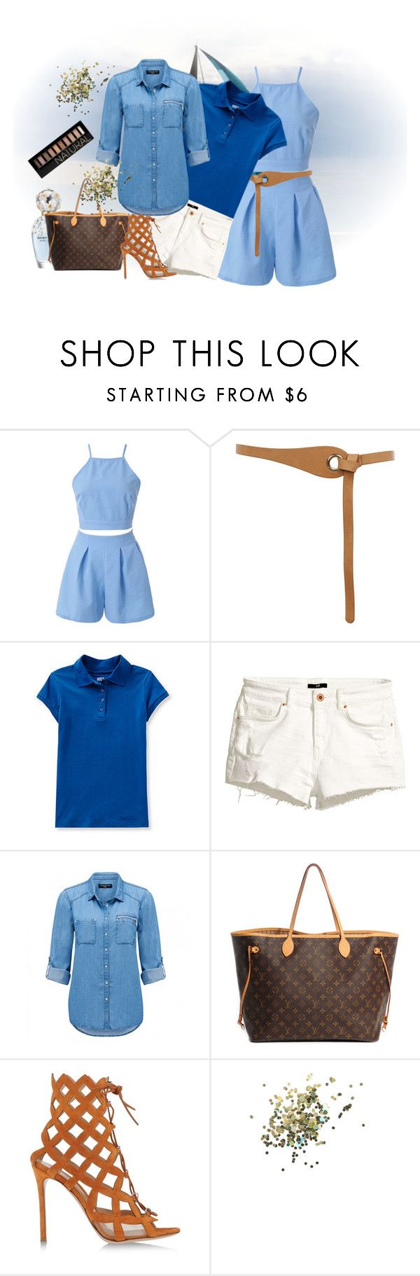 """""""Blue"""" by armband ❤ liked on Polyvore featuring Warehouse, H&M, Marc Jacobs, Forever New, Louis Vuitton, Gianvito Rossi, Topshop and Forever 21"""
