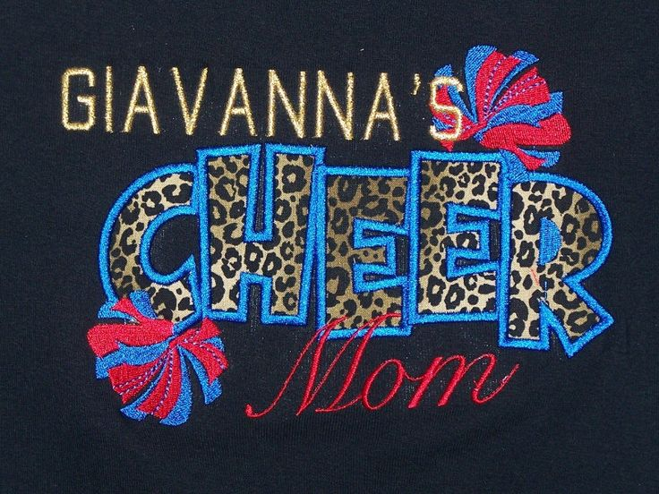 Cheer Mom Shirt Personalized Cheer Mom shirt by trendyembroidery on Etsy https://www.etsy.com/listing/123619366/cheer-mom-shirt-personalized-cheer-mom
