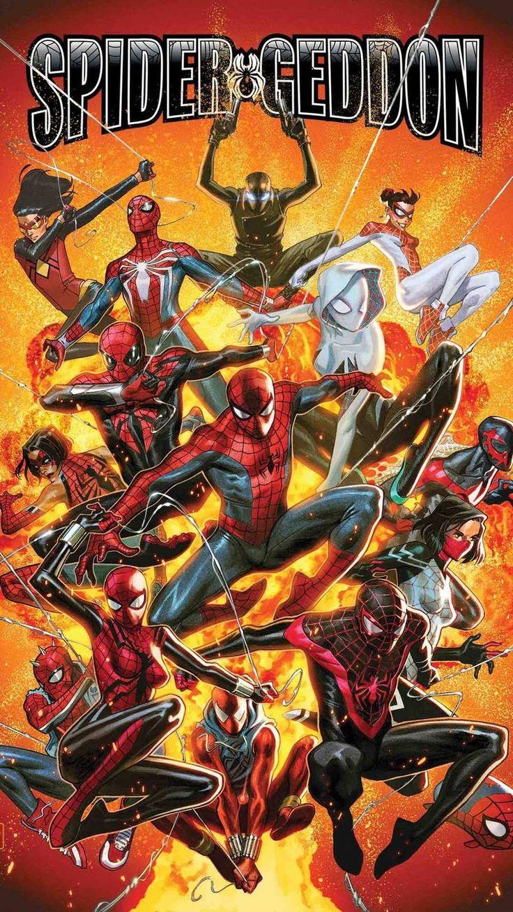Spider Verse iPhone Wallpaper Spider verse, Marvel