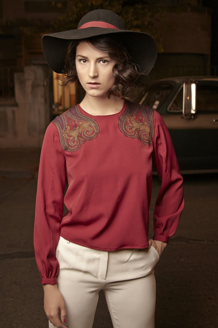 Blusa Parches / Patch Blouse