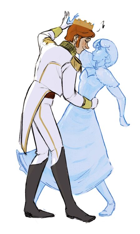 shang-had-gay-thoughts: Frozen AU where Hans' wins and he ends up ruling Arendelle and he's so smug about it and keeps Anna as a statue.