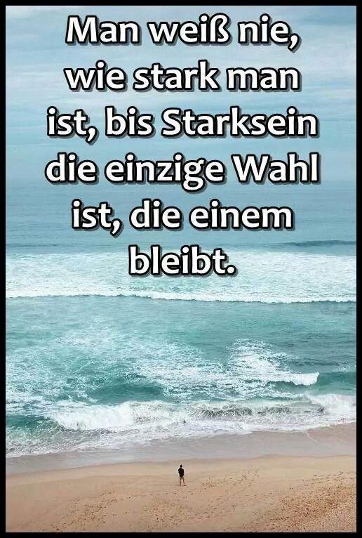 Stark sein