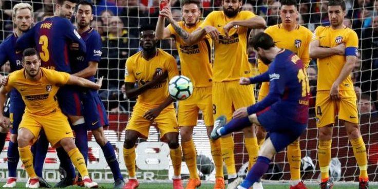 Messi se afina para Rusia con racha de goles de tiro libre