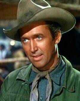 """Stewart in """"Bend of the River"""" 1952"""