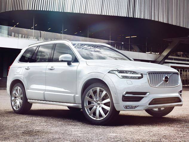 volvo XC90 launched