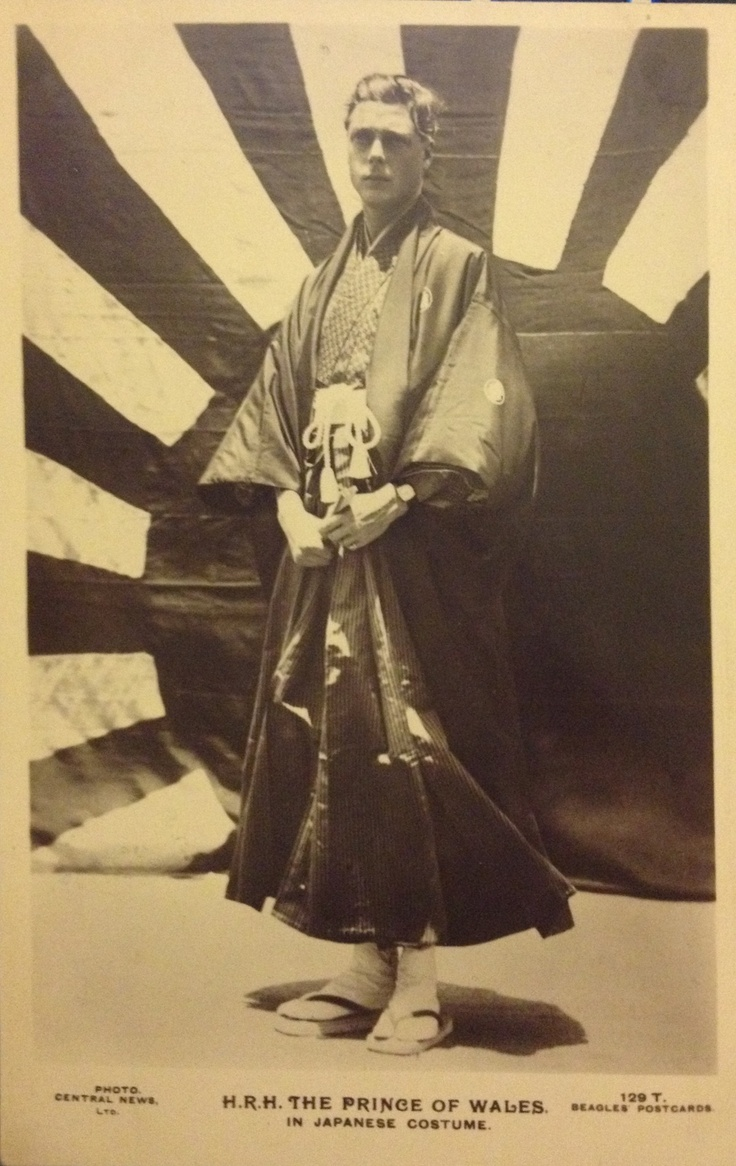 Prince of Wales in Japanese costume | Edward, Duke of ...