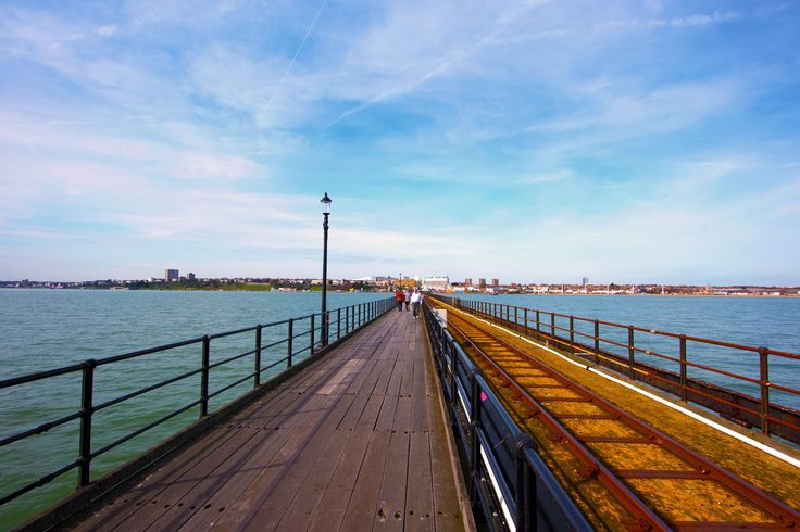 Southend Pier, down the river from London