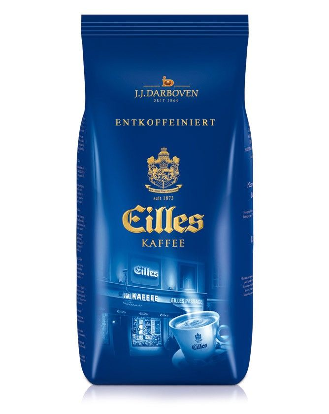 EILLES Kaffee Entkoffeiniert 1000 g Bohne | online kaufen bei Gourvita