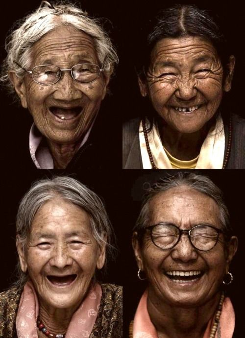 Beautiful- Wrinkled with Smiles